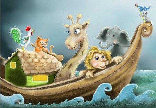 L'arche de Noé en famille... ou presque ! dans Arche de Noé f7bf24a9