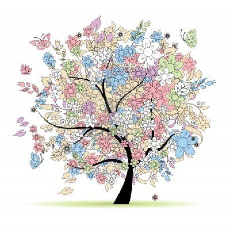 9128620-arbre-floral-en-couleurs-pastels-pour-votre-design-printemps