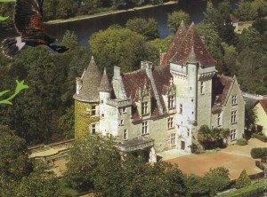 France, Dordogne, Les Milandes, Chateau