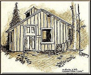 Le charpentier ... dans Textes à méditer (239) Cabane-a-bois