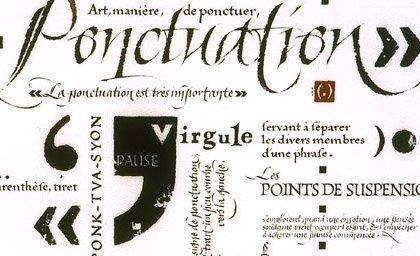 Ponctuations  dans Poésies, Fables, contes, ... (171) ponct