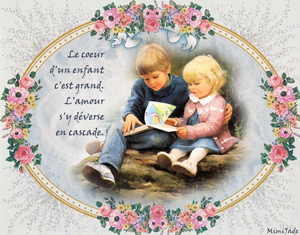 Le coeur d'un enfant, c'est grand ... dans Citations, proverbes... enfant12