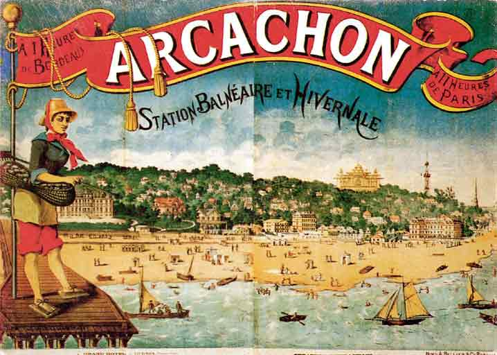 Vieilles affiches - Arcachon dans Vieilles affiches fdascird