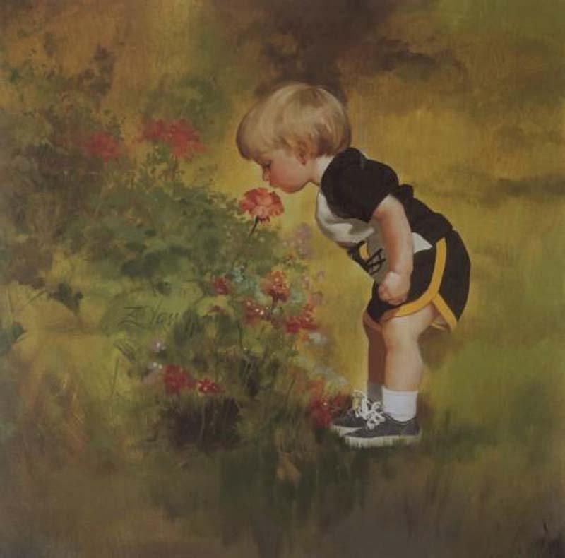 La fleur et l'enfant ... dans Poésies, Fables, contes, ... (171) 193