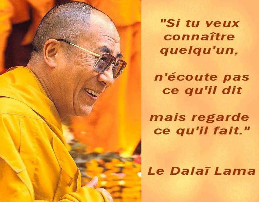 Si tu veux connaître quelqu'un, ... dans Citations, proverbes... dalailamacitation