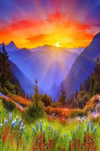 couleurs montagnardes
