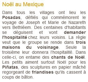 Noël en Mexique
