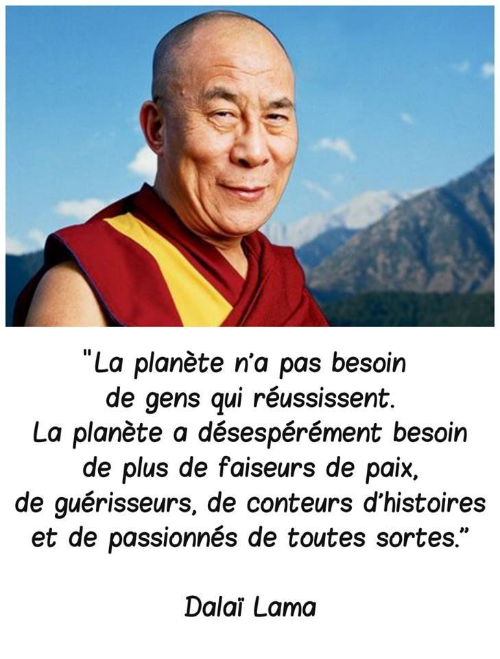citation Dalaï Lama