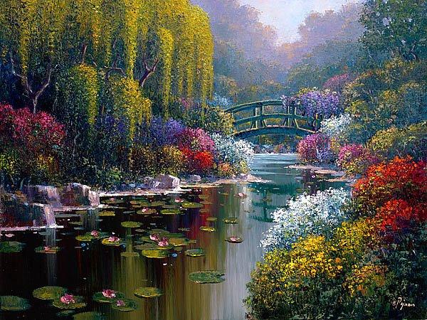 Giverny_Pond Bob Pejman